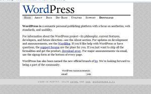 Wordpress 2003